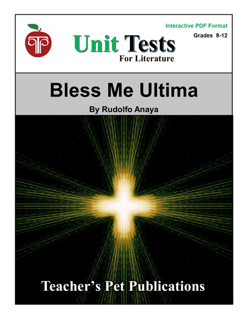 Bless Me Ultima Interactive PDF Unit Test