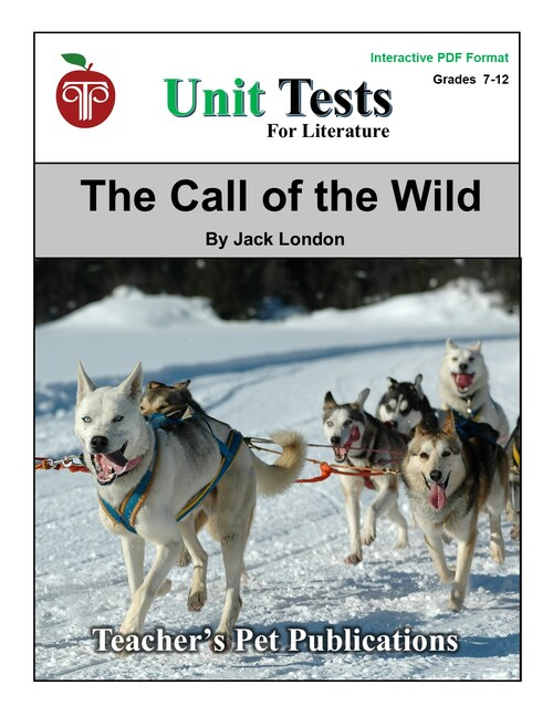 The Call Of The Wild Interactive PDF Unit Test