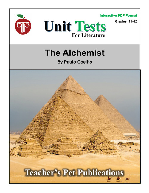 The Alchemist Interactive PDF Unit Test