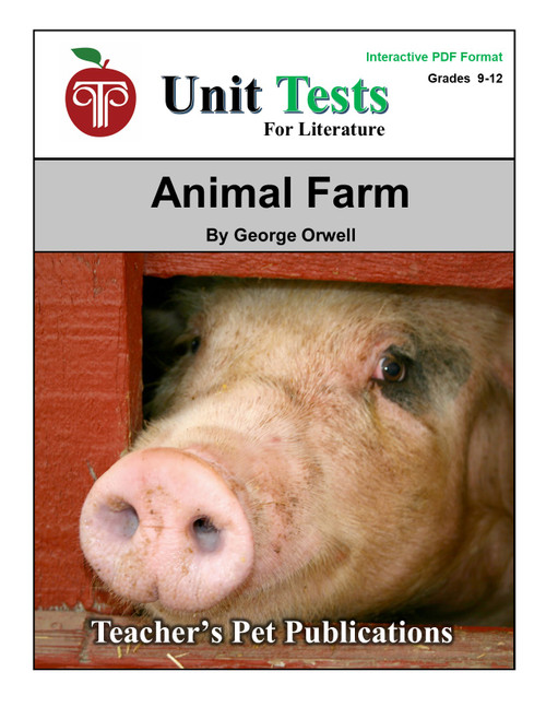 Animal Farm Interactive PDF Unit Test