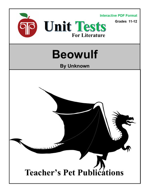 Beowulf Interactive PDF Unit Test