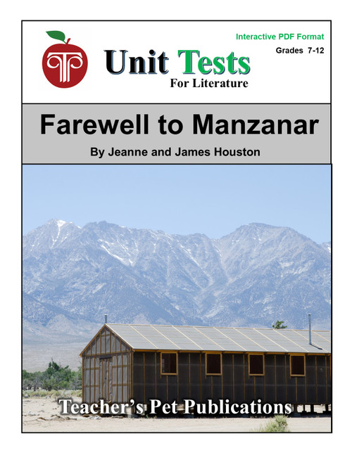 Farewell to Manzanar Interactive PDF Unit Test