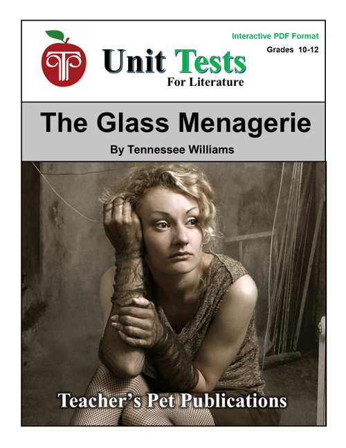 The Glass Menagerie Interactive PDF Unit Test