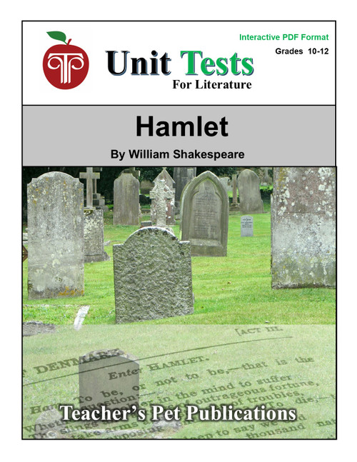 Hamlet Interactive PDF Unit Test