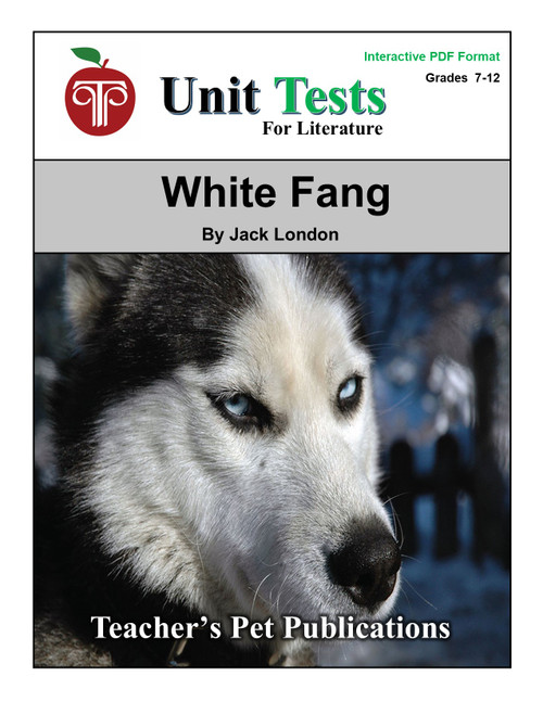 White Fang Interactive PDF Unit Test