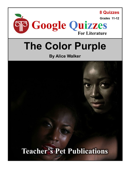 The Color Purple Google Forms Quizzes