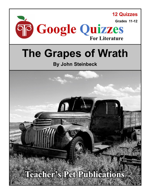 The Grapes of Wrath Google Forms Quizzes