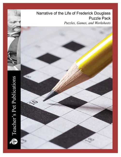 Narrative of the Life of Frederick Douglass Puzzle Pack Worksheets, Activities, Games