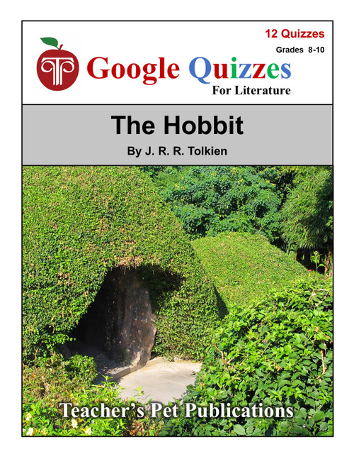 The Hobbit Google Forms Quizzes