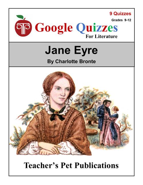 Jane Eyre Google Forms Quizzes