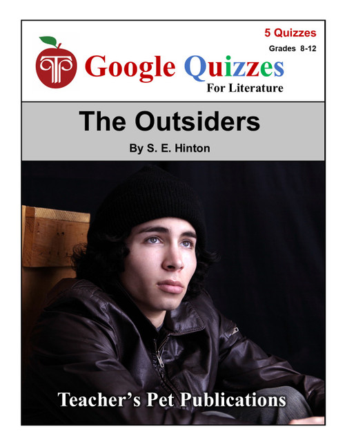 The Outsiders Google Forms Quizzes
