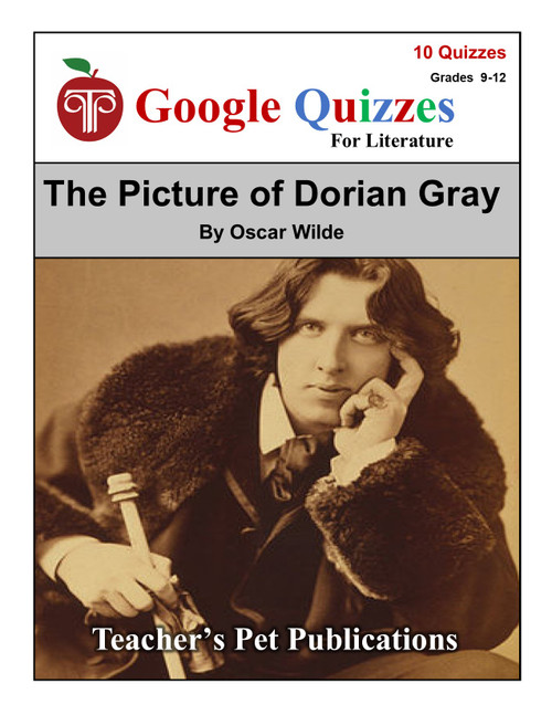 The Picture of Dorian Gray Google Forms Quizzes