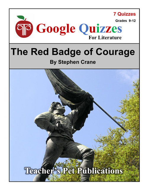 The Red Badge of Courage Google Forms Quizzes