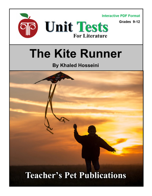 The Kite Runner Interactive PDF Unit Test