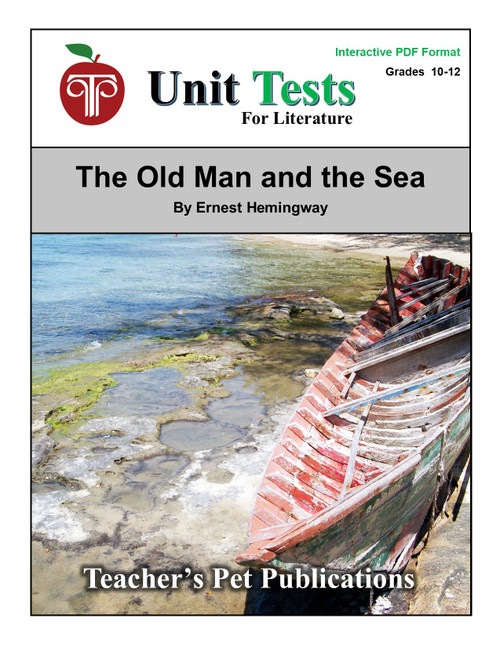 The Old Man and the Sea Interactive PDF Unit Test
