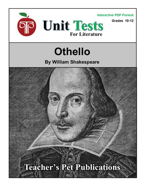 Othello Interactive PDF Unit Test