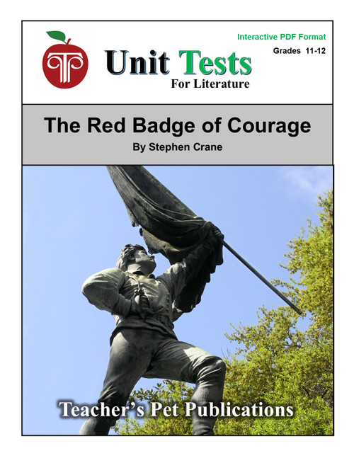 The Red Badge of Courage Interactive PDF Unit Test