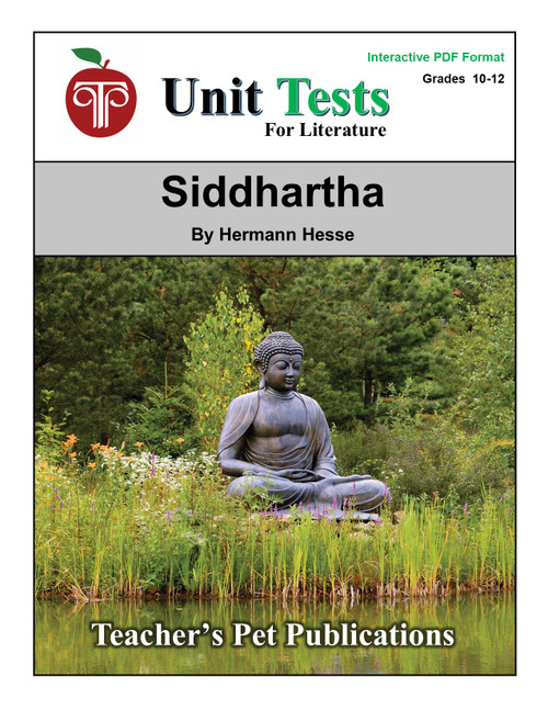 Siddhartha Interactive PDF Unit Test