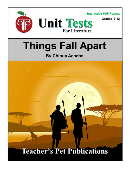 Things Fall Apart Interactive PDF Unit Test