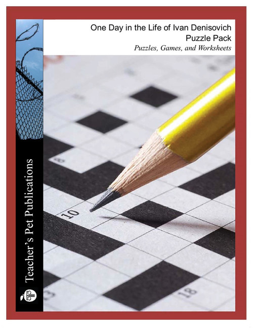 One Day in the Life of Ivan Denisovich Puzzle Pack Worksheets, Activities, Games