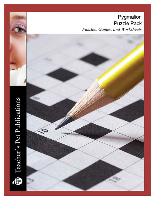 Pygmalion Puzzle Pack Worksheets, Activities, Games