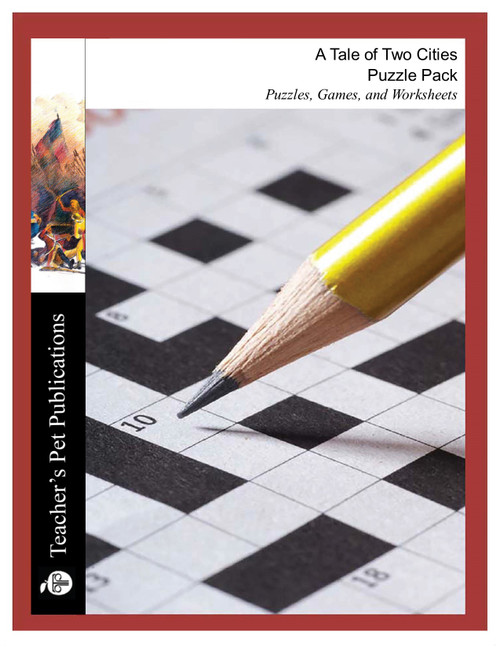 A Tale of Two Cities Puzzles, Worksheets, Games | Puzzle Pack