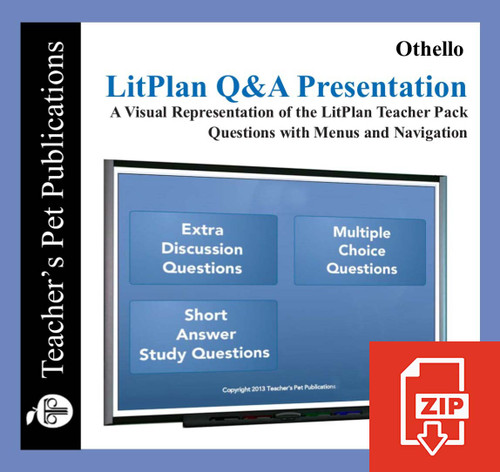 Othello Study Questions on Presentation Slides | Q&A Presentation