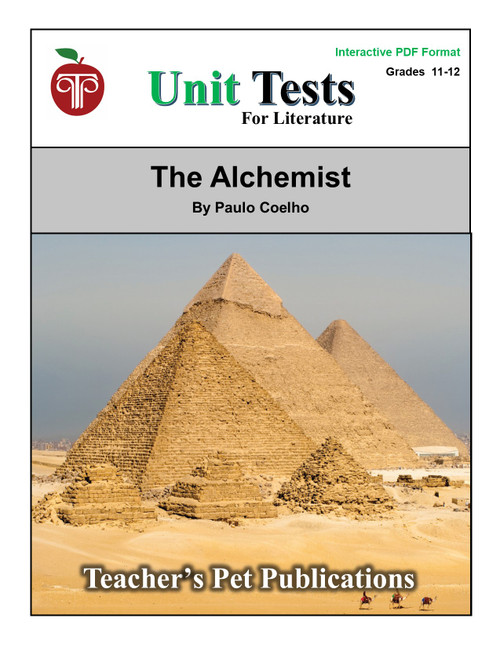 The Alchemist Interactive PDF Unit Test | Great for Google Classroom!