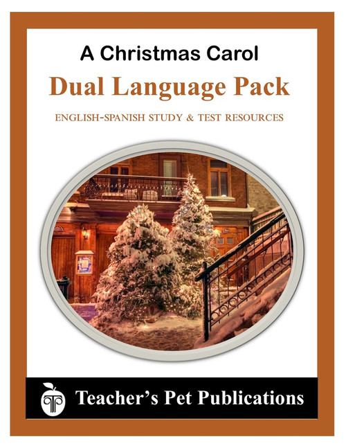 A Christmas Carol Dual Language Pack English-Spanish Novel Study Guide