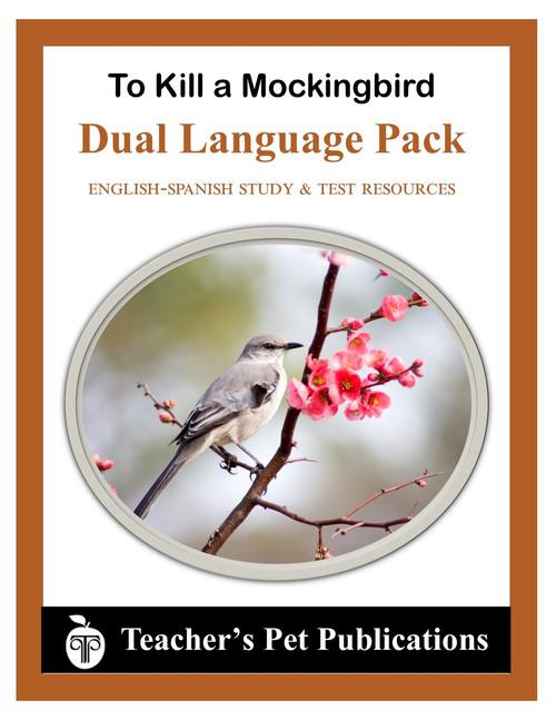 To Kill a Mockingbird Dual Language Pack English-Spanish Novel Study Guide