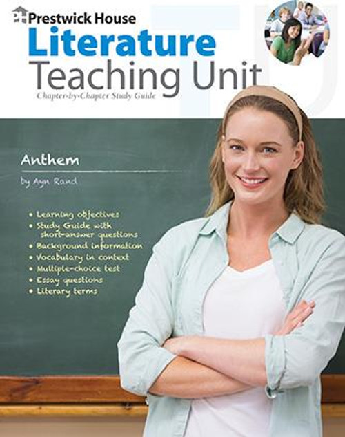 Anthem Prestwick House Novel Teaching Unit