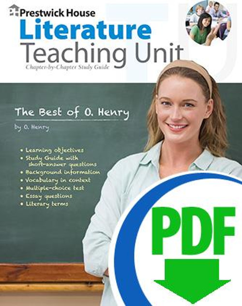 Best of O. Henry Prestwick House Novel Teaching Unit