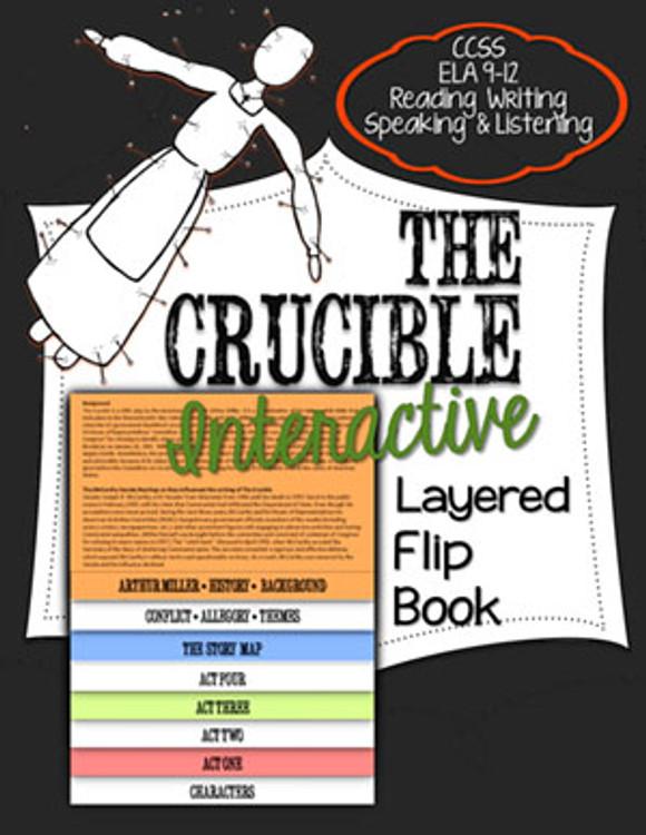 The Crucible Novel Study Flip Book