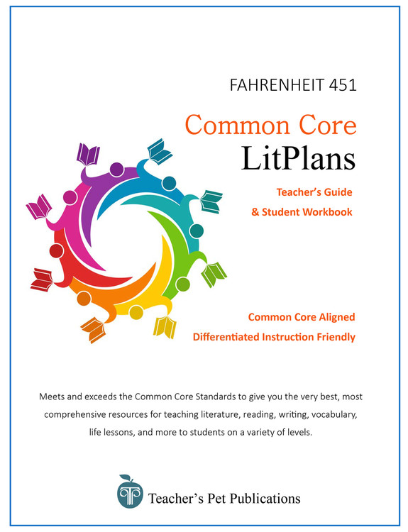 Fahrenheit 451 Common Core LitPlan