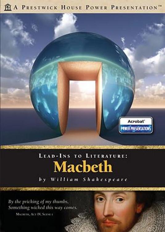 Macbeth Lead-In To Literature