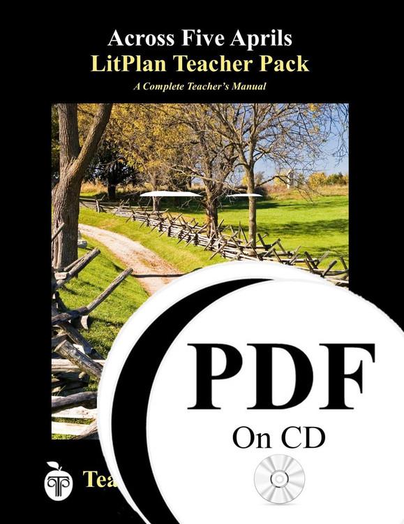 Across Five Aprils LitPlan Lesson Plans on CD