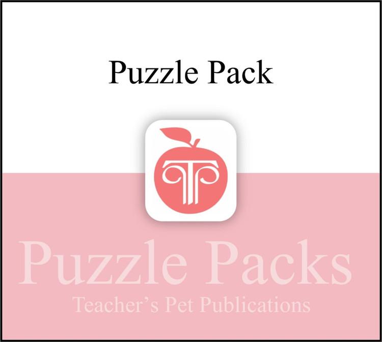 Antigone Puzzles, Worksheets, Games   Puzzle Pack