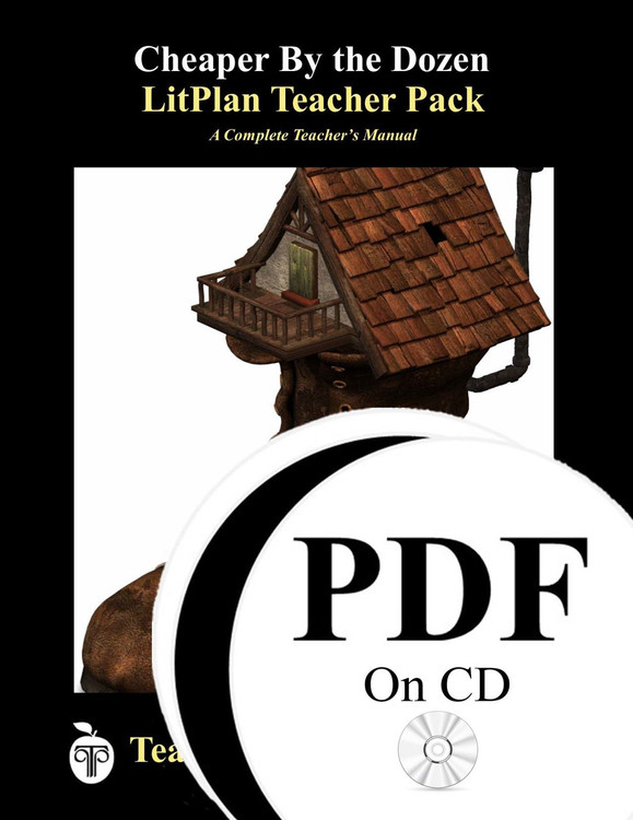 Cheaper By the Dozen Lesson Plans | LitPlan Teacher Pack on CD