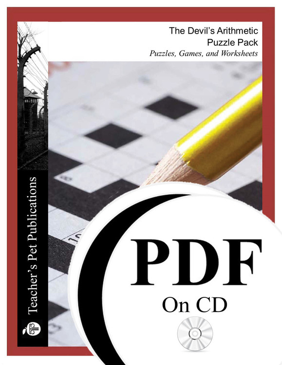 The Devil's Arithmetic Puzzle Pack Worksheets, Activities, Games (PDF on CD)