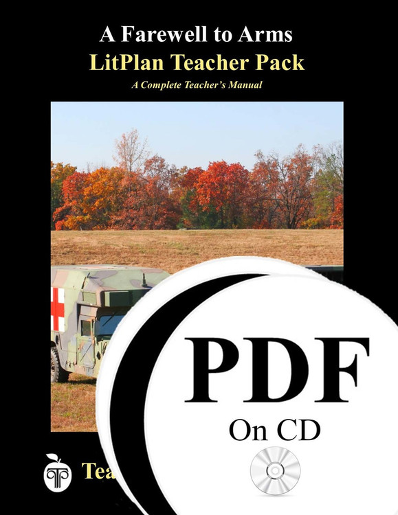 A Farewell to Arms LitPlan Lesson Plans (PDF on CD)