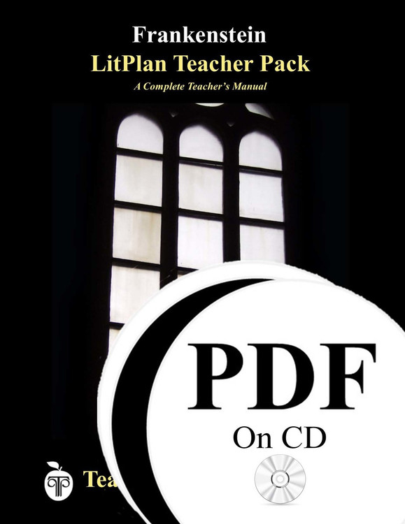 Frankenstein LitPlan Lesson Plans (PDF on CD)
