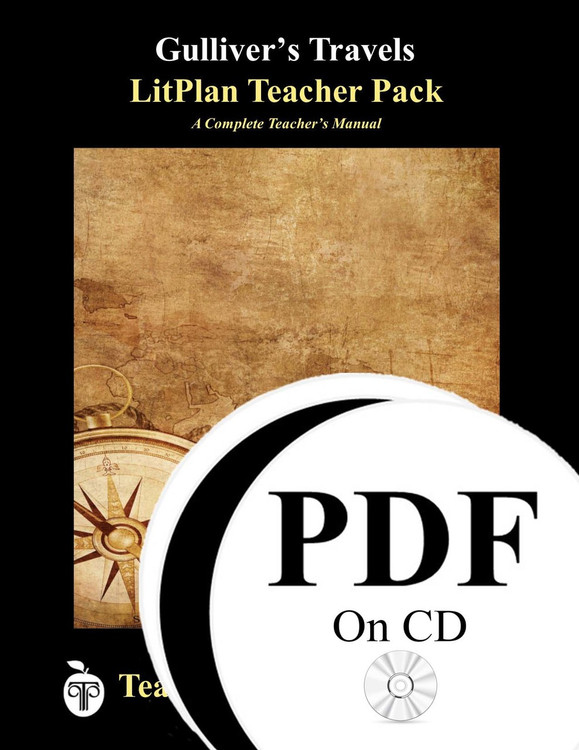 Gulliver's Travels LitPlan Lesson Plans (PDF on CD)