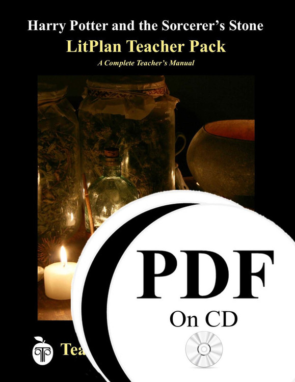 Harry Potter and the Sorcerer's Stone LitPlan Lesson Plans (PDF on CD)