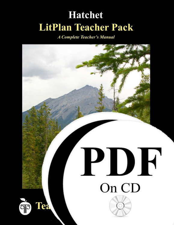 Hatchet LitPlan Lesson Plans (PDF on CD)