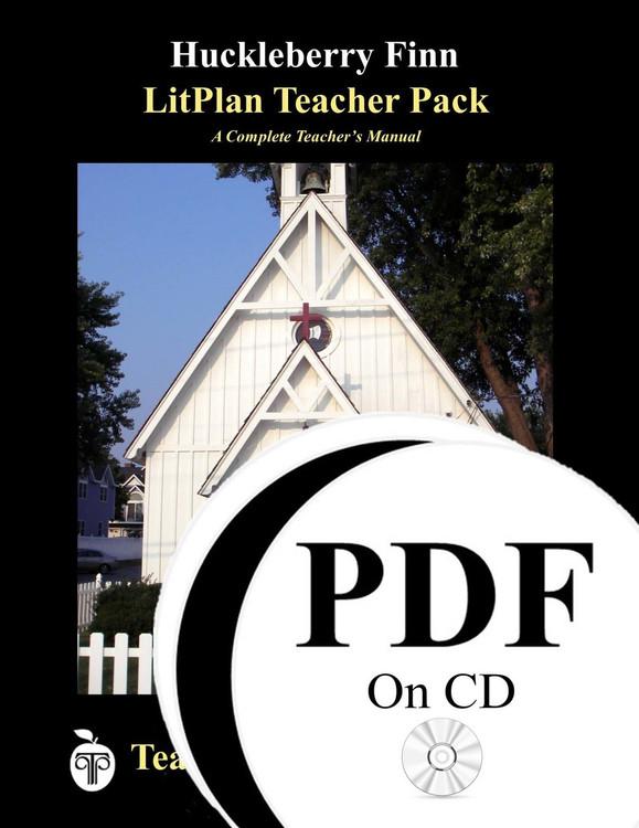 The Adventures of Huckleberry Finn LitPlan Lesson Plans (PDF on CD)