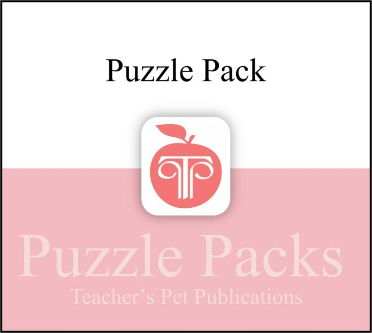 Oedipus Rex (Oedipus the King) Puzzles, Worksheets, Games | Puzzle Pack (CD Wallet Image)