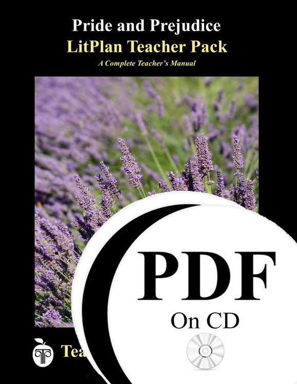 Pride and Prejudice LitPlan Lesson Plans (PDF on CD)