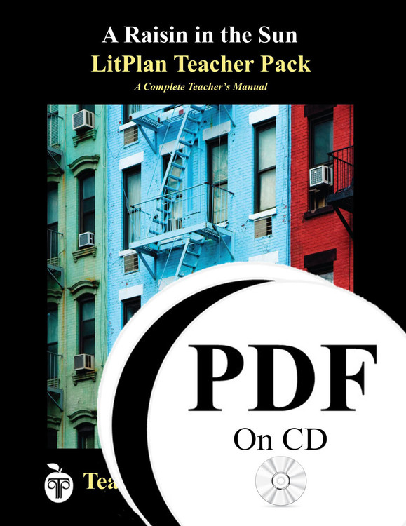 A Raisin in the Sun LitPlan Lesson Plans (PDF on CD)