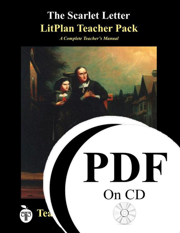 The Scarlet Letter LitPlan Lesson Plans (PDF on CD)