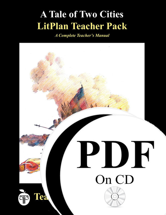 A Tale of Two Cities Lesson Plans   LitPlan Teacher Pack  on CD